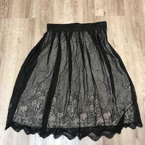 H&M Modern Classic Black Skirt